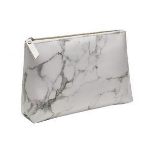 Waterproof Marble Makeup Bag Leather Cosmetic Bag for Women Waterproof  - 副本