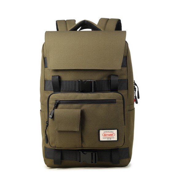 Men's Backpack Mountaineering Bag Flip Large Capacity Computer Backpack Customized Business Backpack