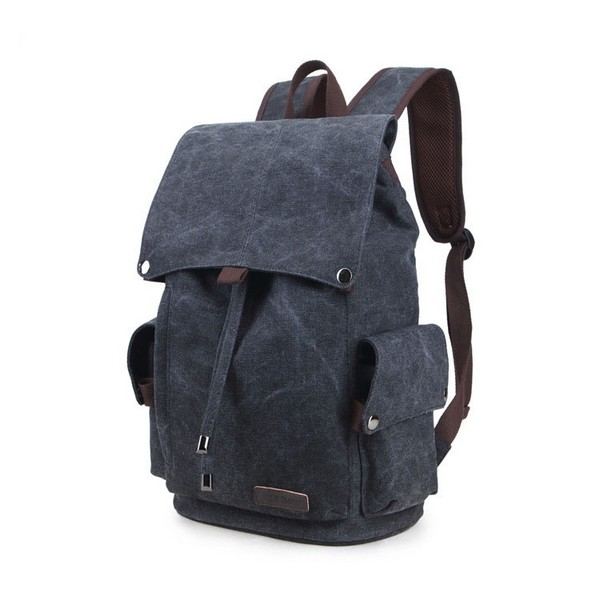 Travel Laptop Backpack Canvas Backpack Student Bag