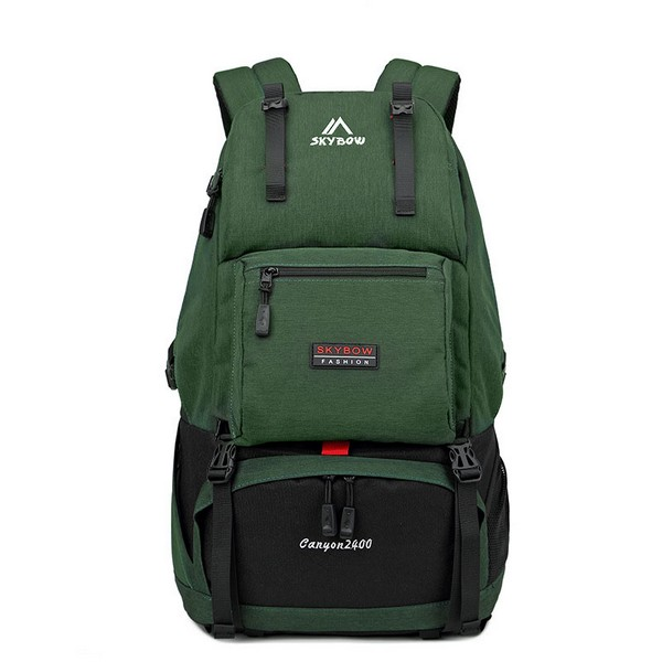 Backpack Male Travel Outdoor Backpack Sports Large Capacity Travel Bag Multi-Function Waterproof Mountaineering Bag