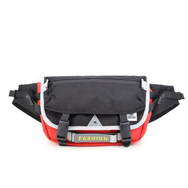Waist Pack Bag Fanny Pack for Men and Women Water Resistant Hip Bum Bag with Large Capacity for Outdoors Workout Traveling Casual Running Hiking Cycling Dog Walking Fishing