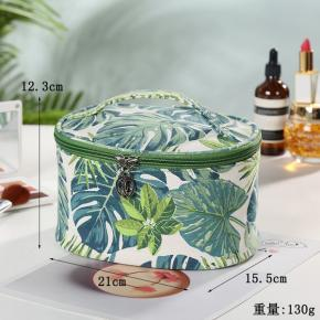 Cosmetic Bag Ins Girl Waterproof wash Bag Student Cute Storage Bag Pencil Case Bucket shaped