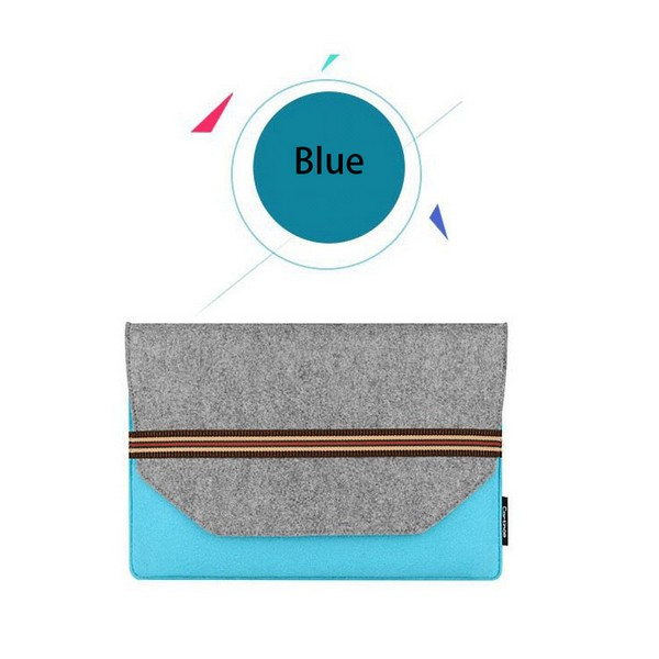 Cheap Felt Laptop Sleeve for 13 Inch Notebook Case with Belt